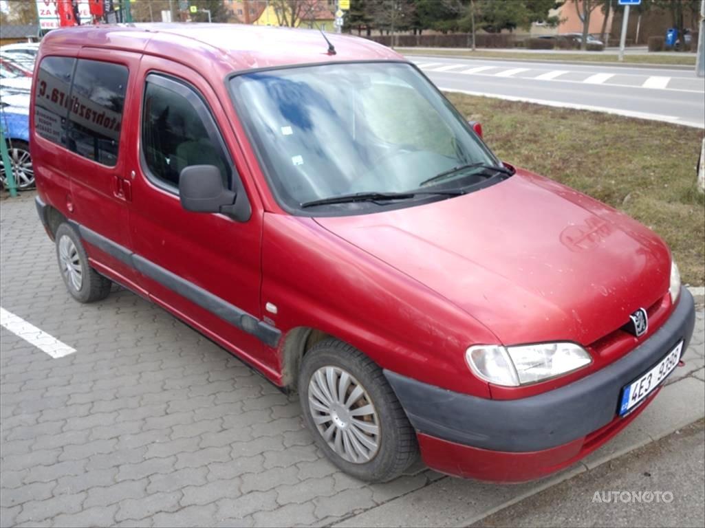 Peugeot Partner, 2000 - celkový pohled