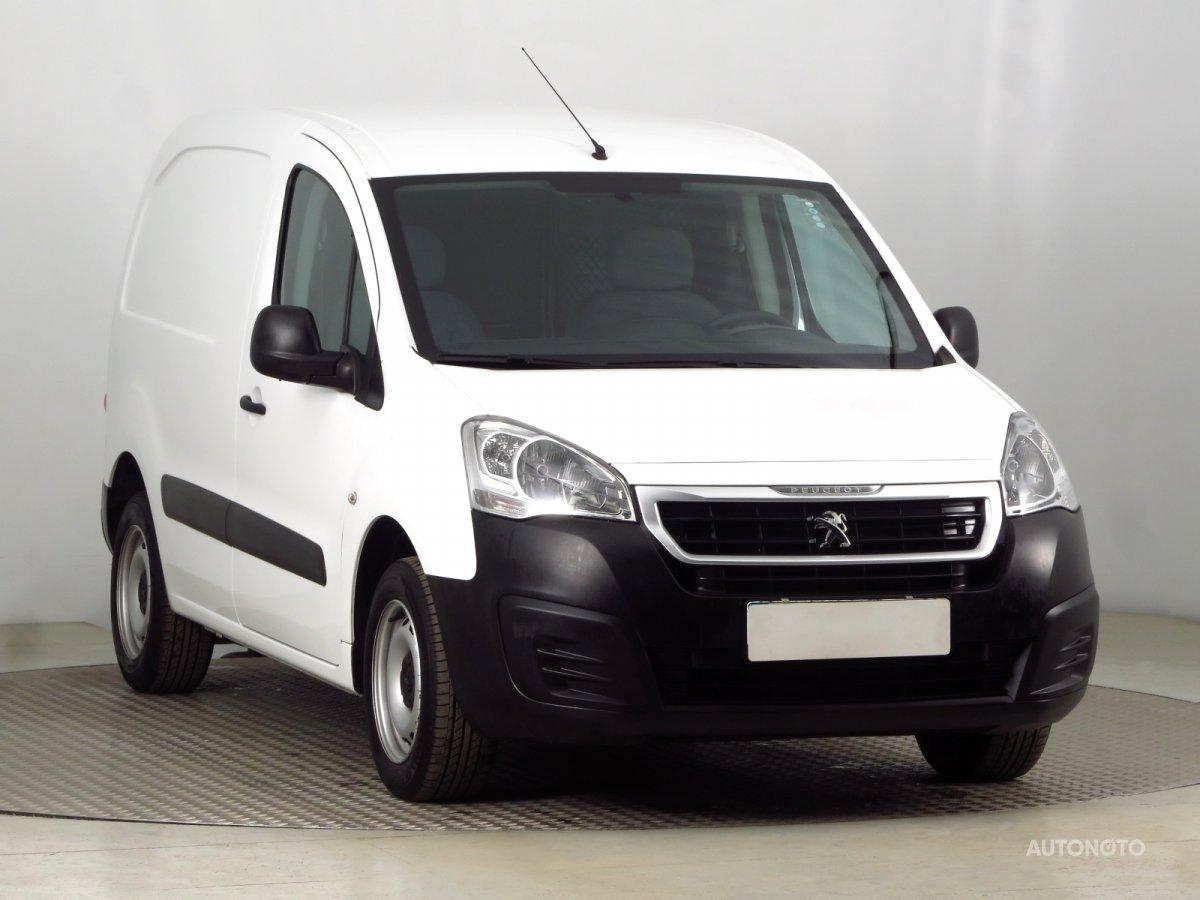 Peugeot Partner, 2016 - celkový pohled