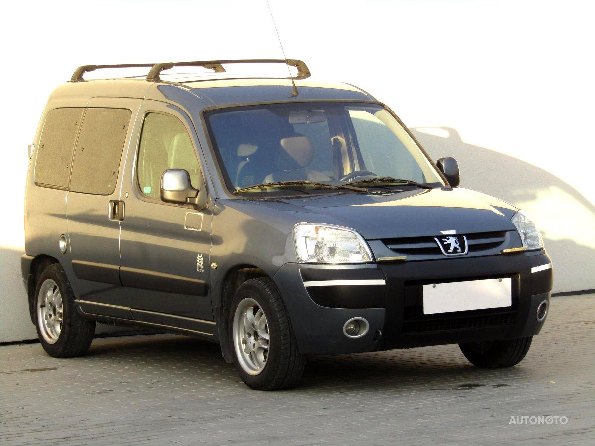 Peugeot Partner, 2006 - celkový pohled