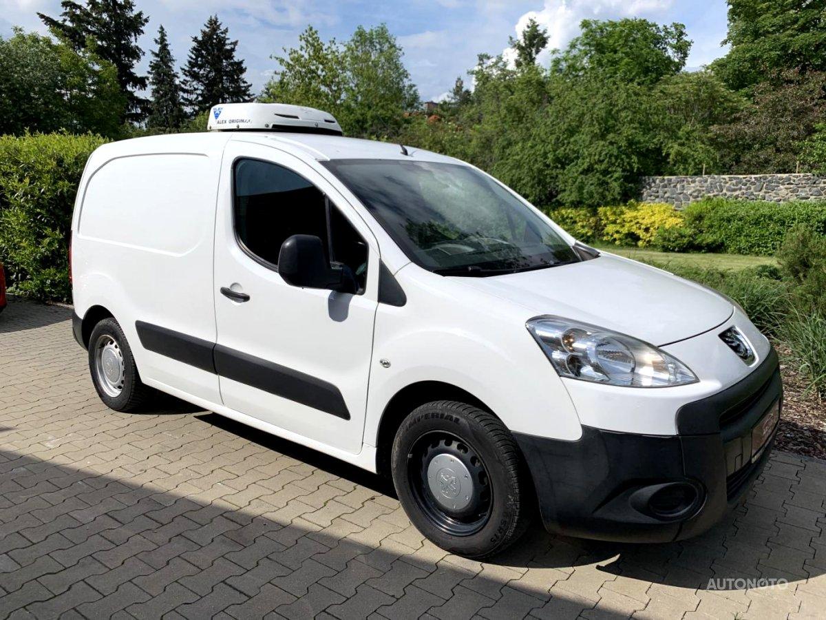 Peugeot Partner, 2012 - celkový pohled
