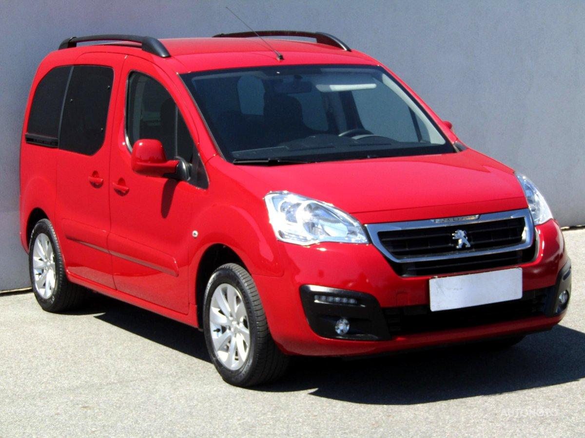 Peugeot Partner, 2017 - celkový pohled