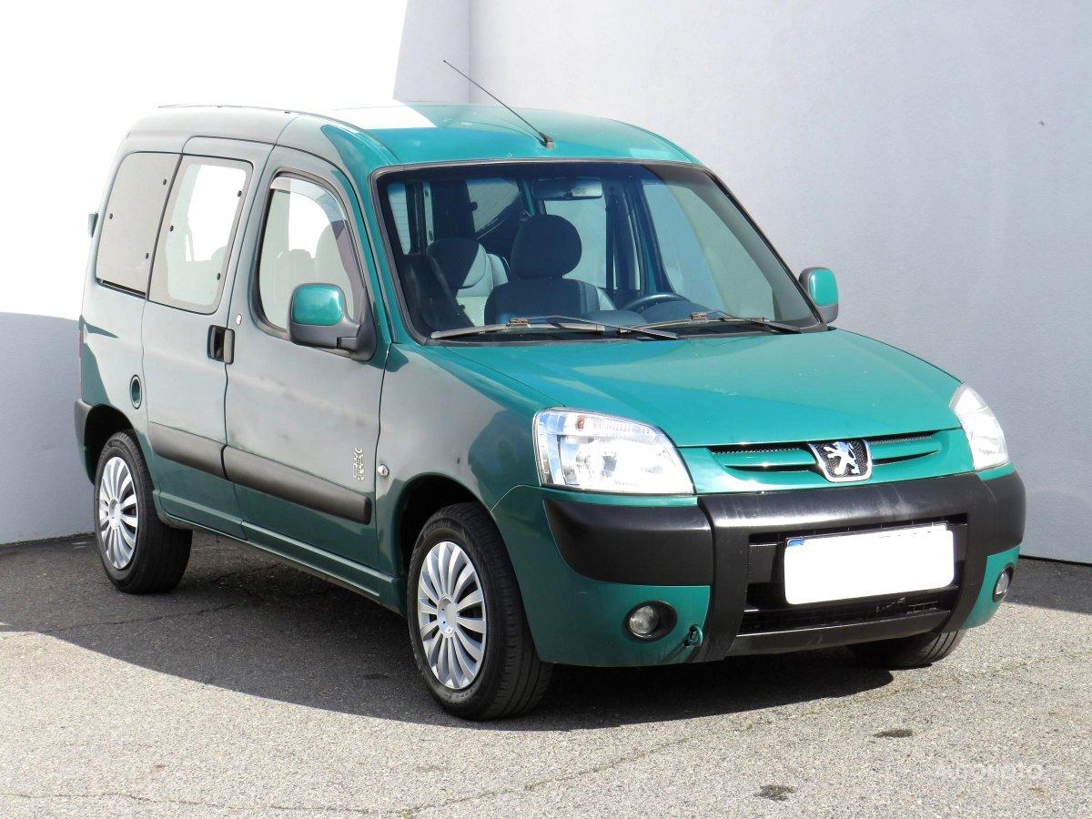 Peugeot Partner, 2007 - celkový pohled