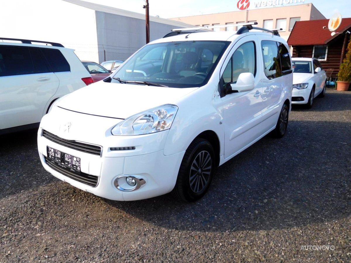 Peugeot Partner, 2013 - celkový pohled