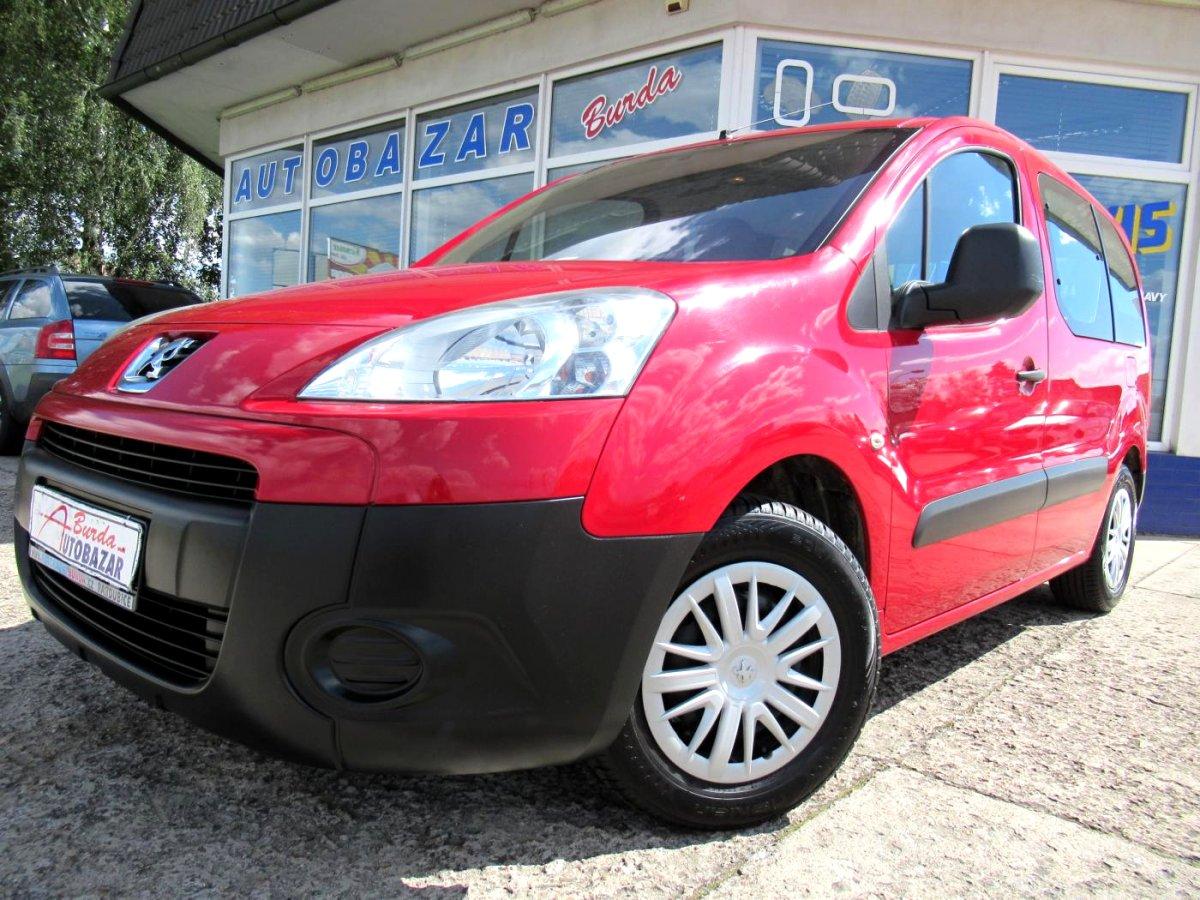 Peugeot Partner, 2008 - celkový pohled