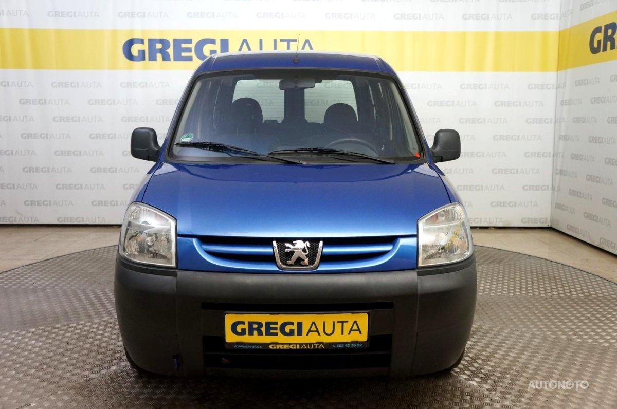 Peugeot Partner, 2003 - celkový pohled