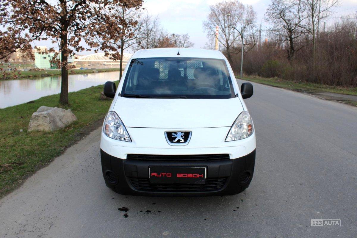 Peugeot Partner, 2011 - celkový pohled
