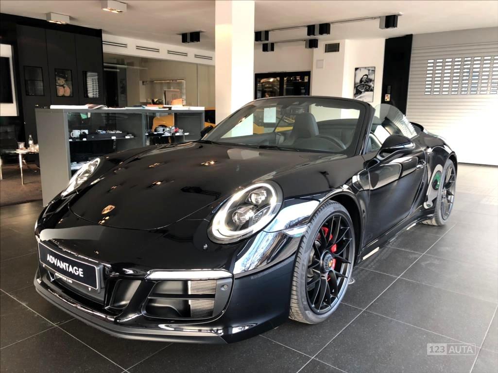 Porsche 911, 2017 - celkový pohled