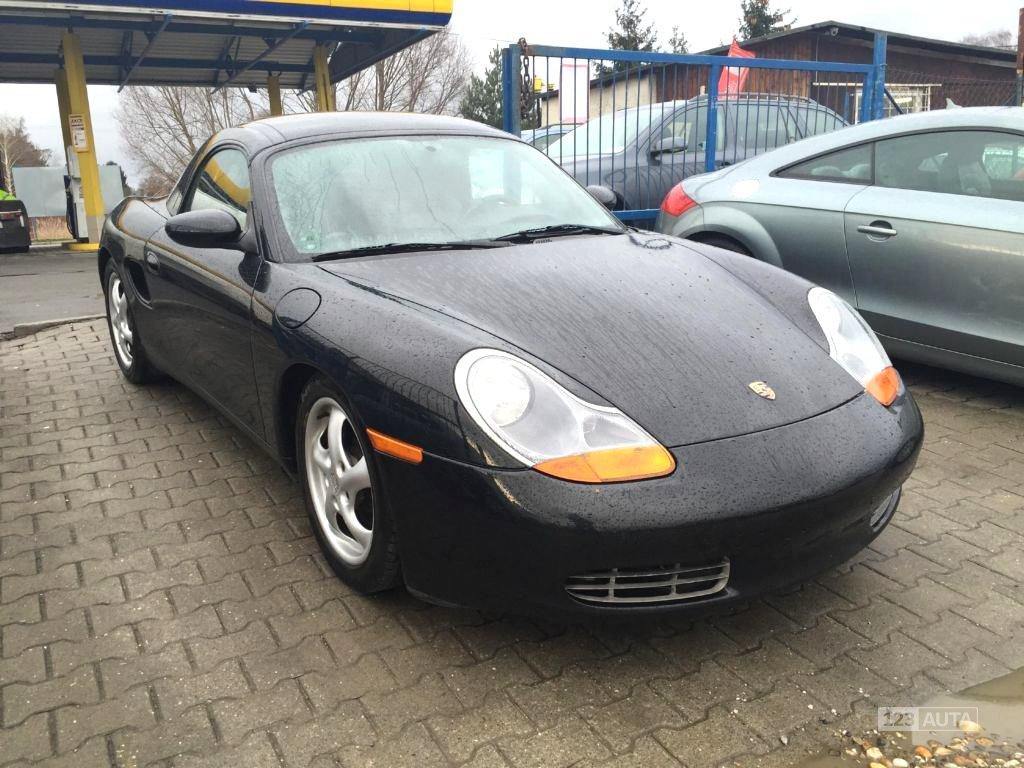 Porsche Boxster, 1999 - celkový pohled