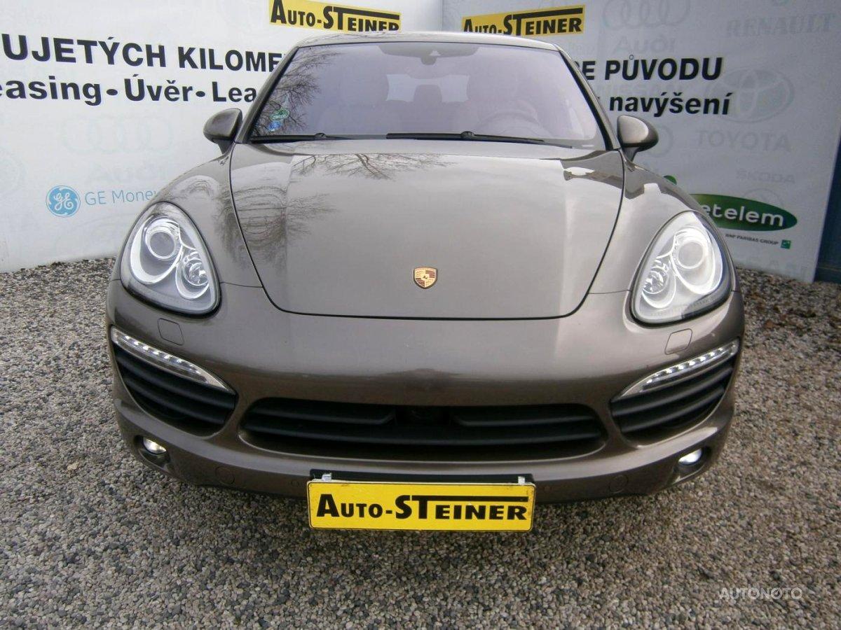 Porsche Cayenne, 2014 - celkový pohled