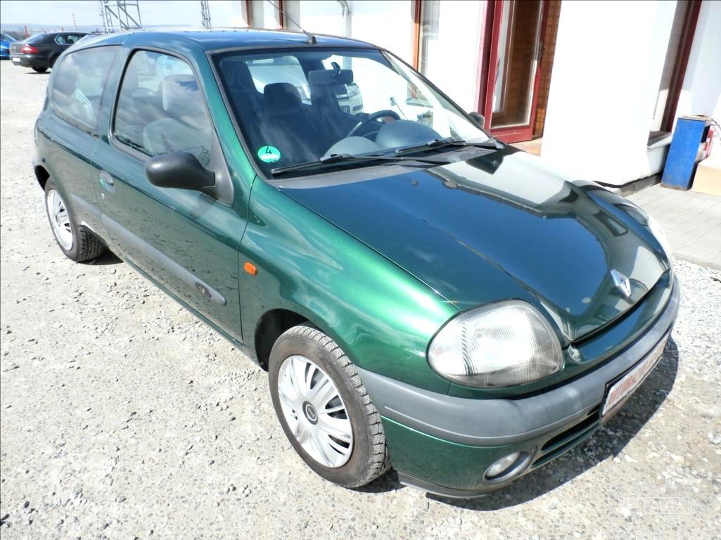 Renault Clio, 1999 - celkový pohled
