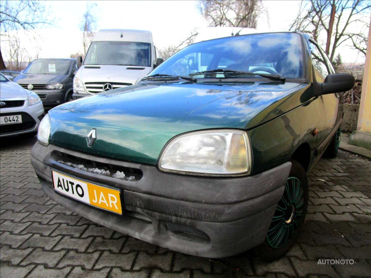 Renault Clio, 1997 - celkový pohled