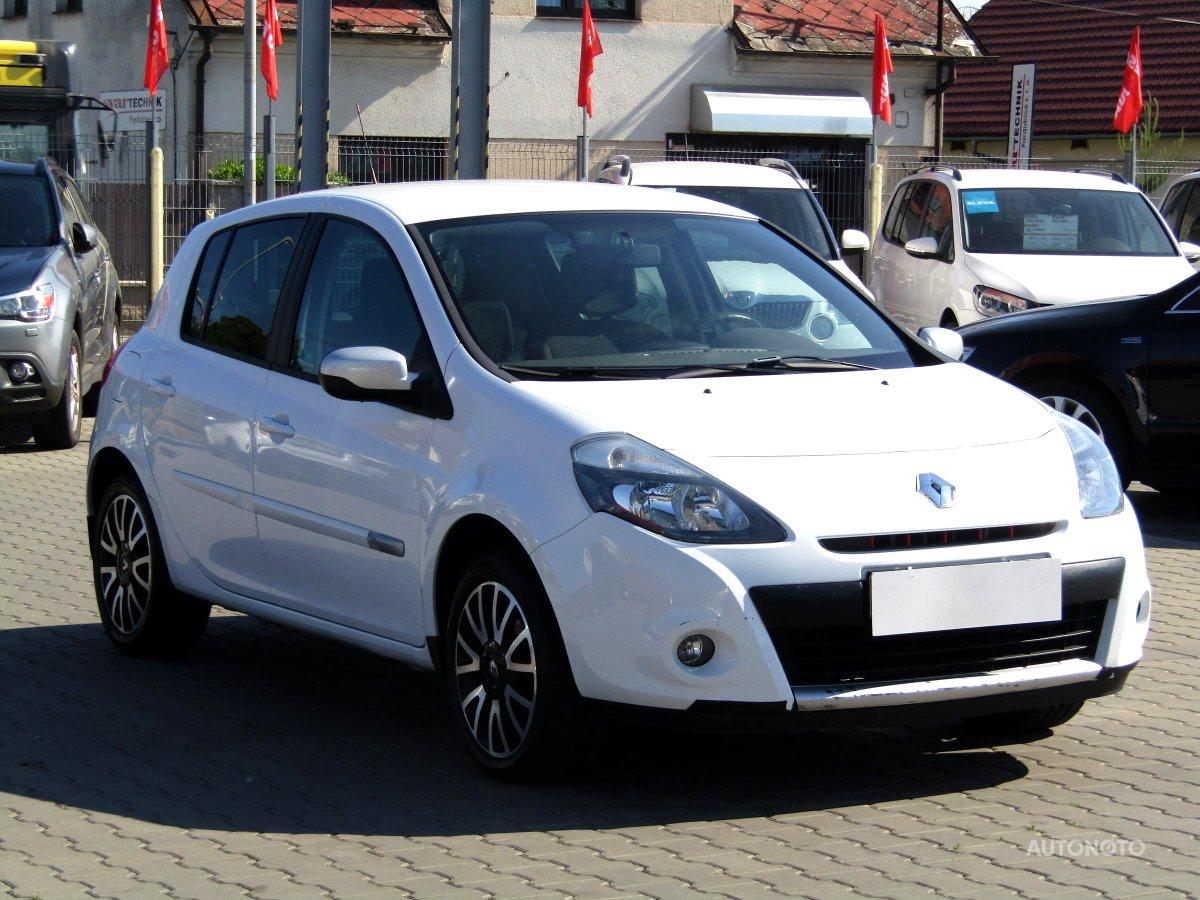 Renault Clio, 2012 - celkový pohled
