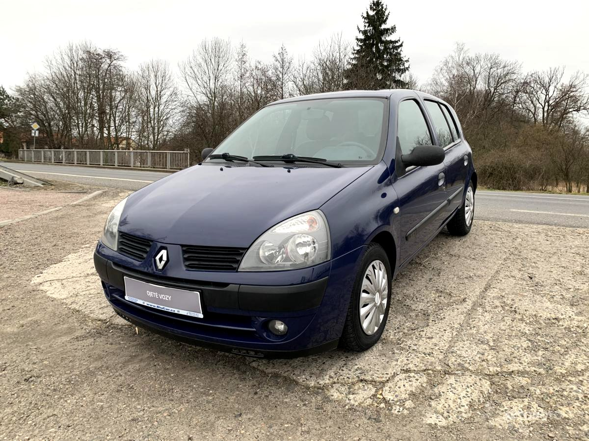Renault Clio, 2004 - celkový pohled