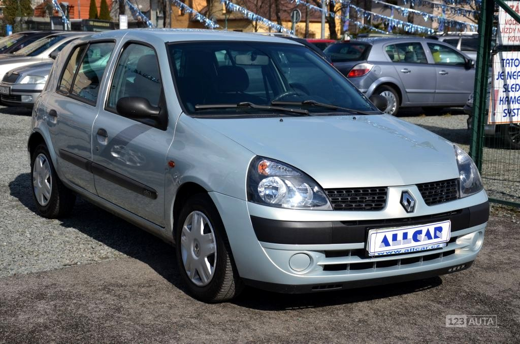 Renault Clio, 2002 - celkový pohled