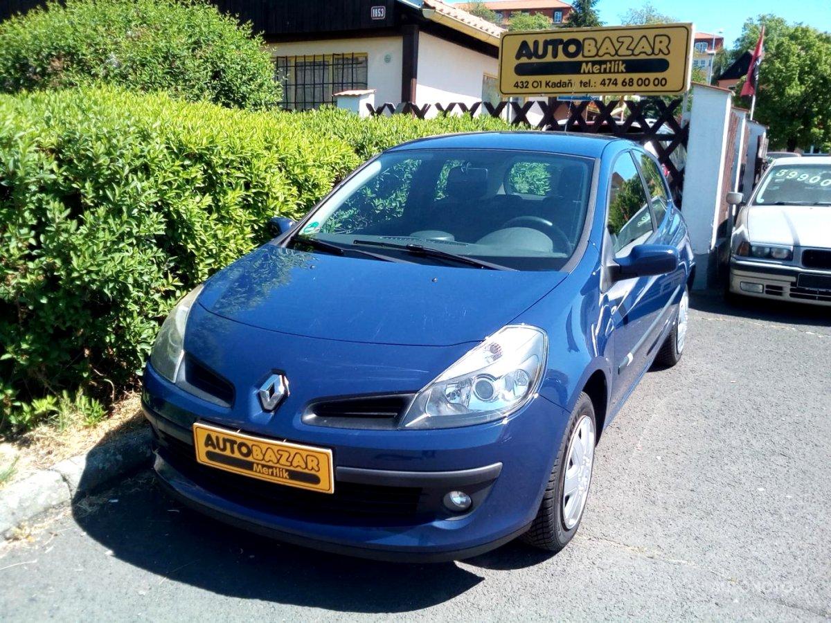 Renault Clio, 2007 - celkový pohled
