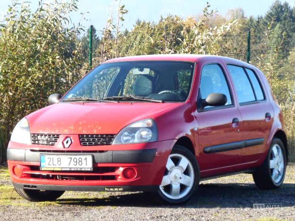 Renault Clio, 2003 - celkový pohled