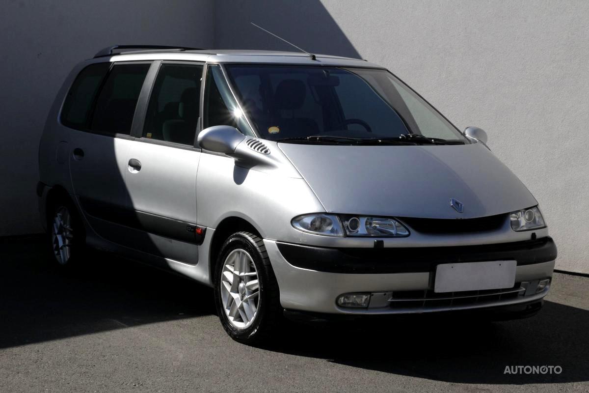 Renault Espace, 2002 - celkový pohled