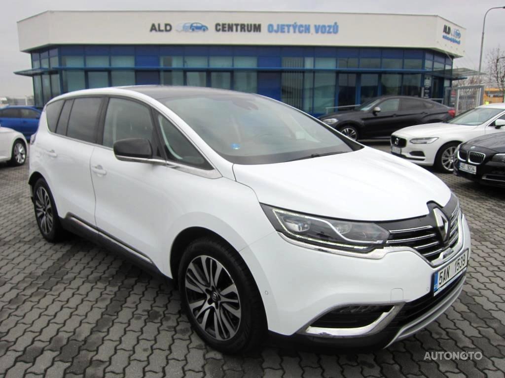 Renault Espace, 2016 - celkový pohled