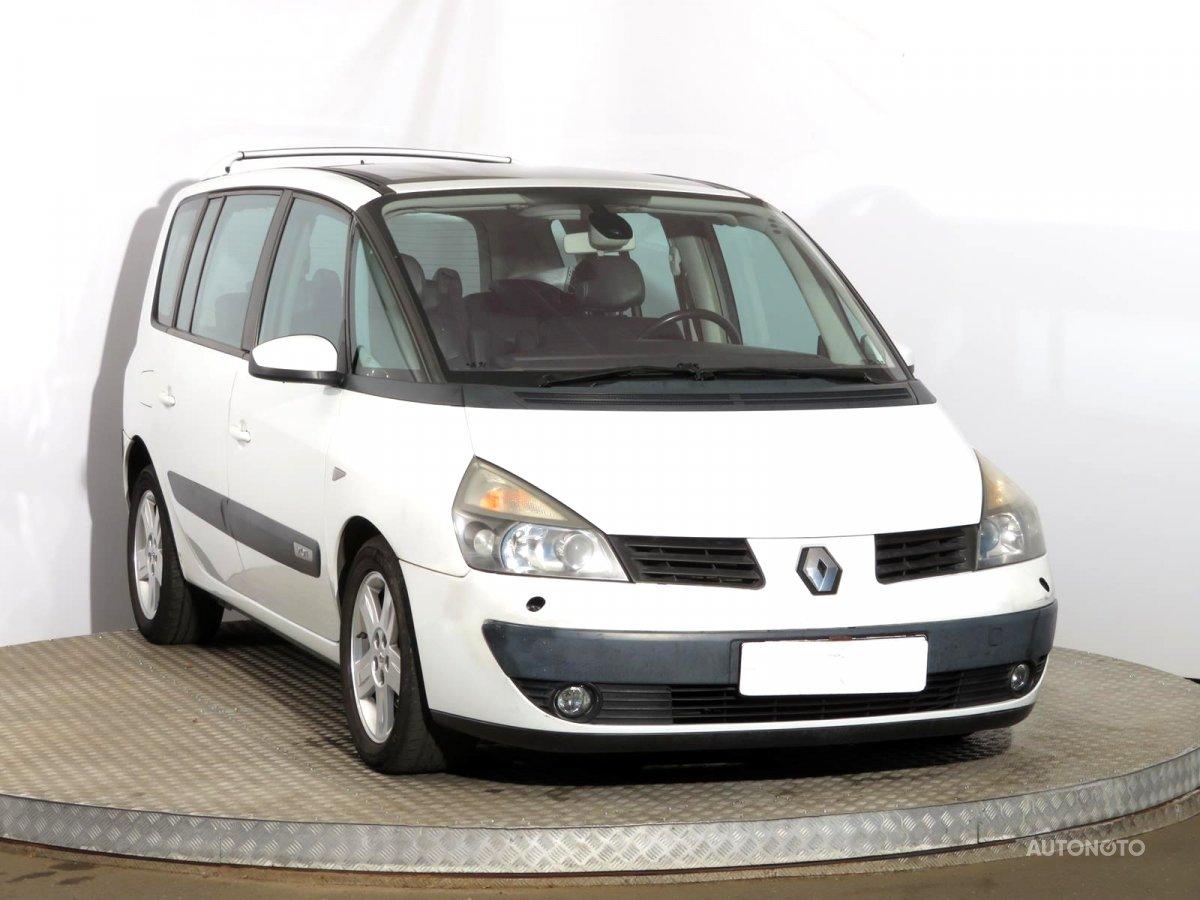 Renault Espace, 2004 - celkový pohled