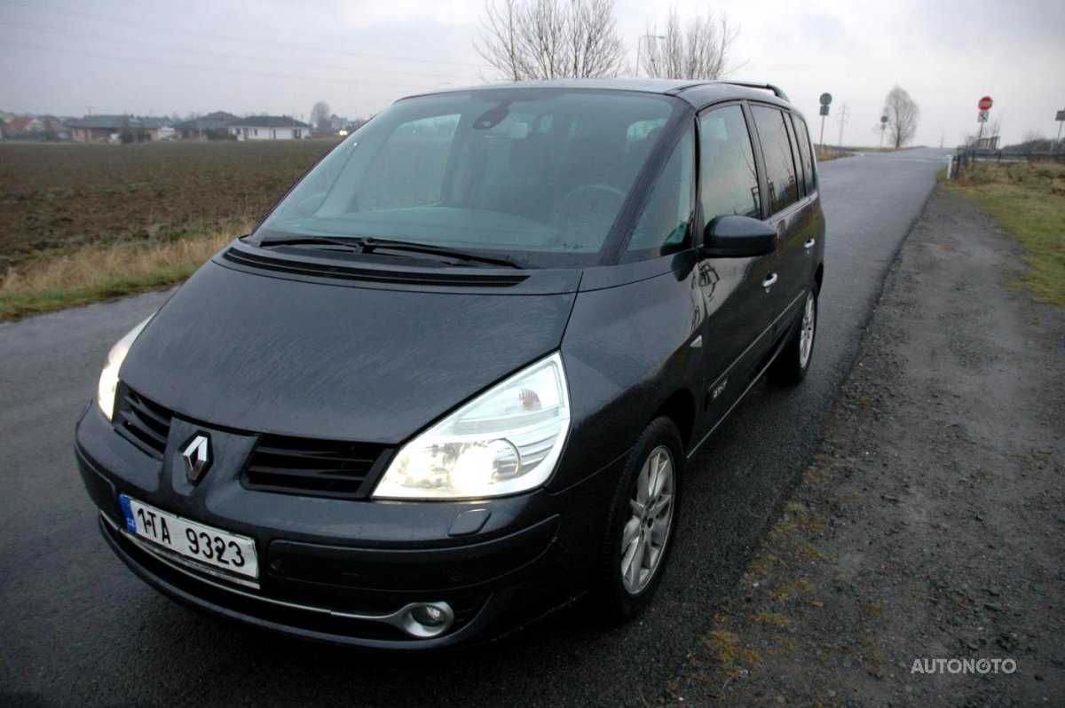 Renault Espace, 2007 - celkový pohled
