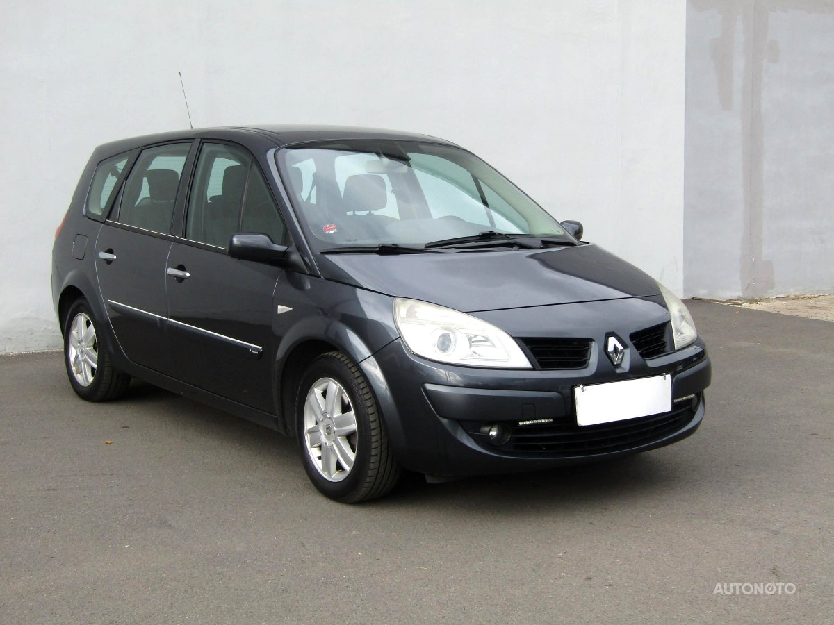 Renault Grand Scénic, 2008 - celkový pohled
