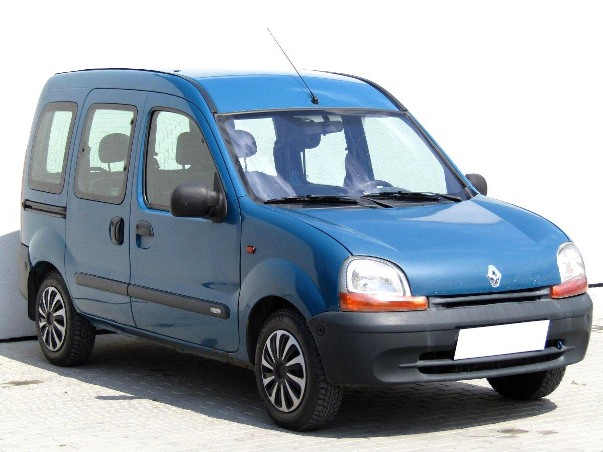 Renault Kangoo, 2000 - celkový pohled