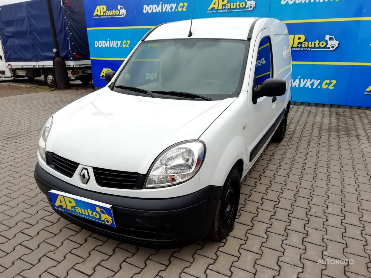Renault Kangoo, 2007 - celkový pohled