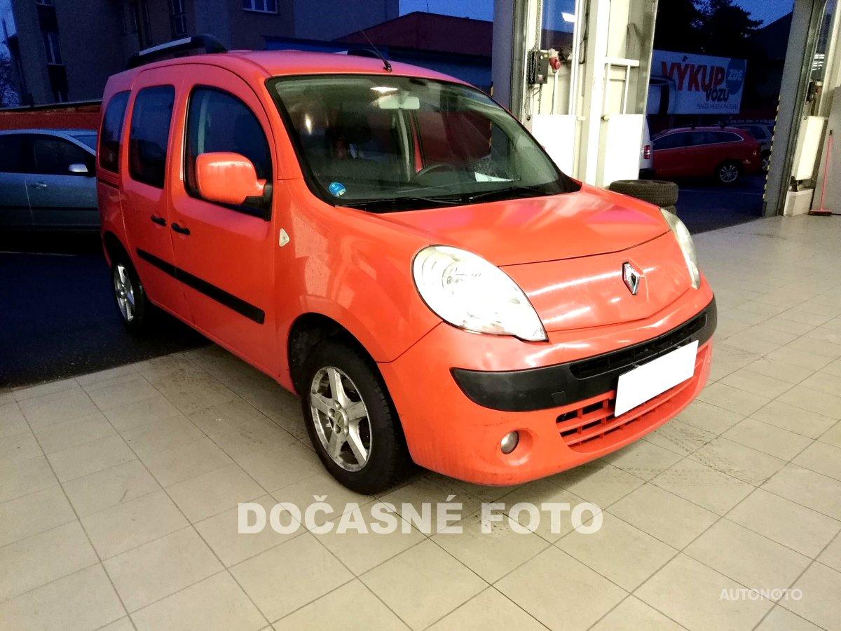Renault Kangoo, 2010 - celkový pohled