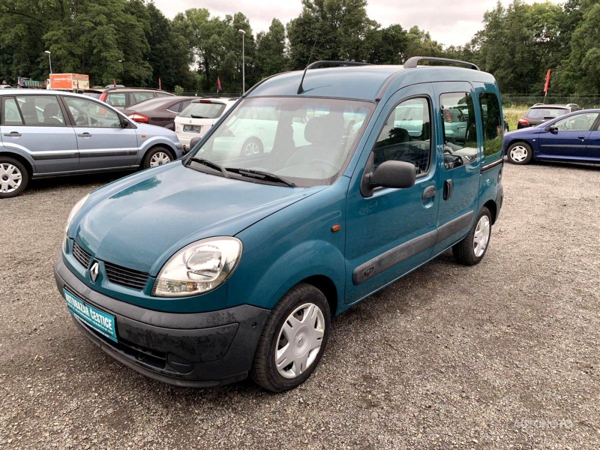 Renault Kangoo, 2003 - celkový pohled