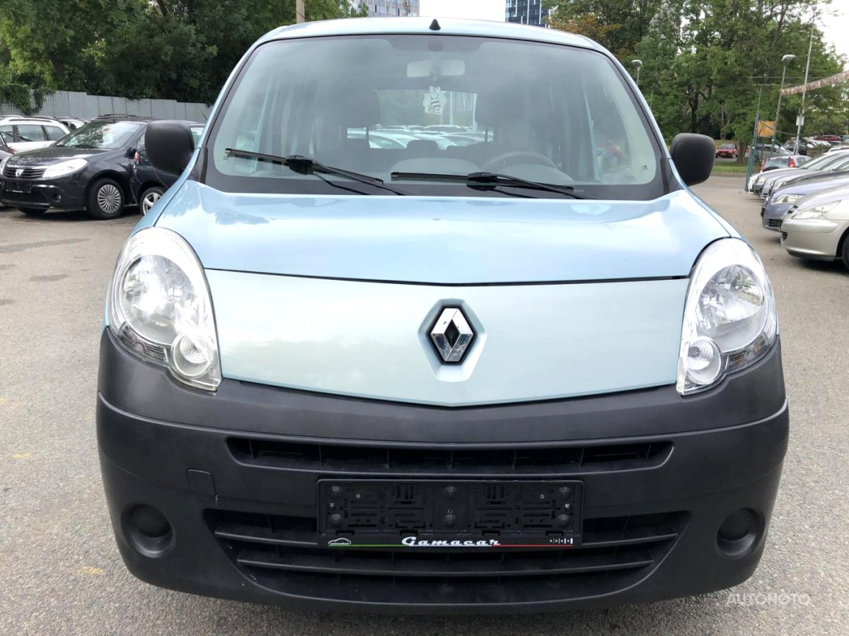 Renault Kangoo, 2009 - celkový pohled