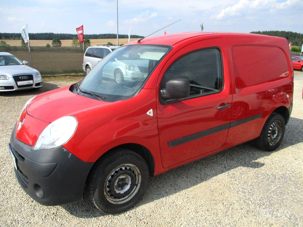 Renault Kangoo, 2008 - celkový pohled