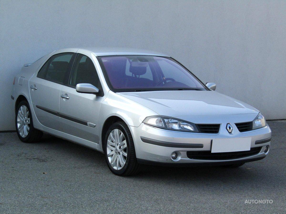 Renault Laguna, 2006 - celkový pohled