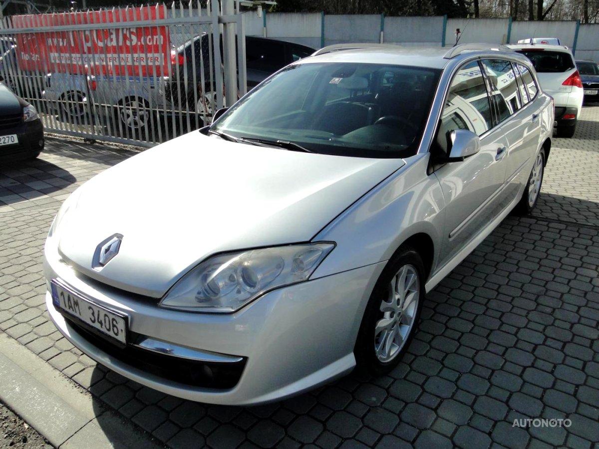 Renault Laguna, 2008 - celkový pohled