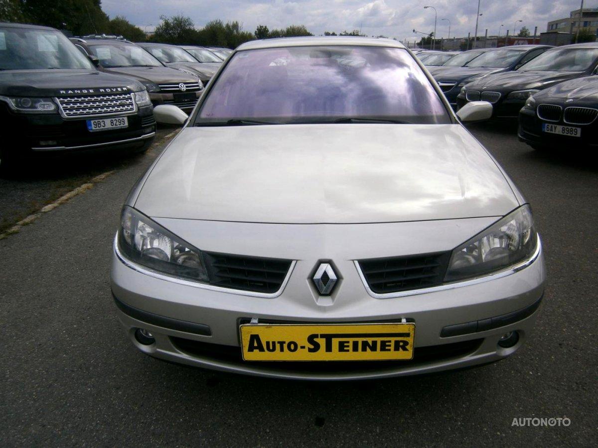 Renault Laguna, 2005 - celkový pohled