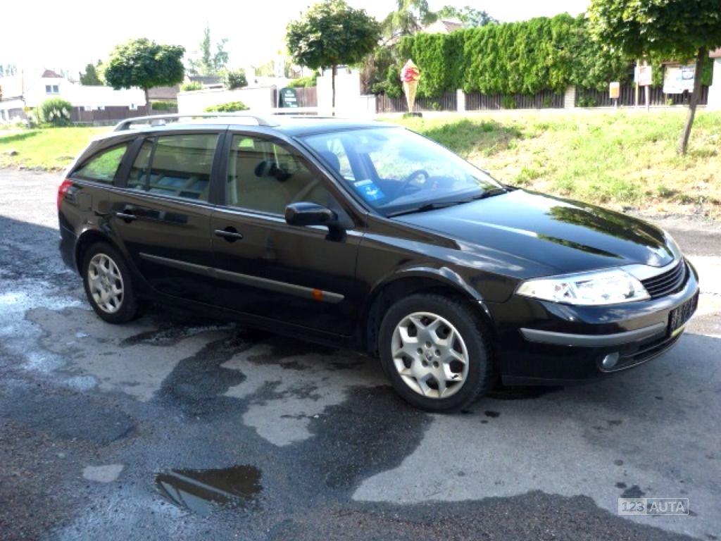 Renault Laguna, 2004 - celkový pohled