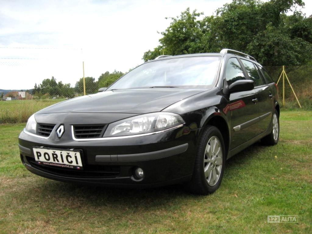 Renault Laguna, 2007 - celkový pohled