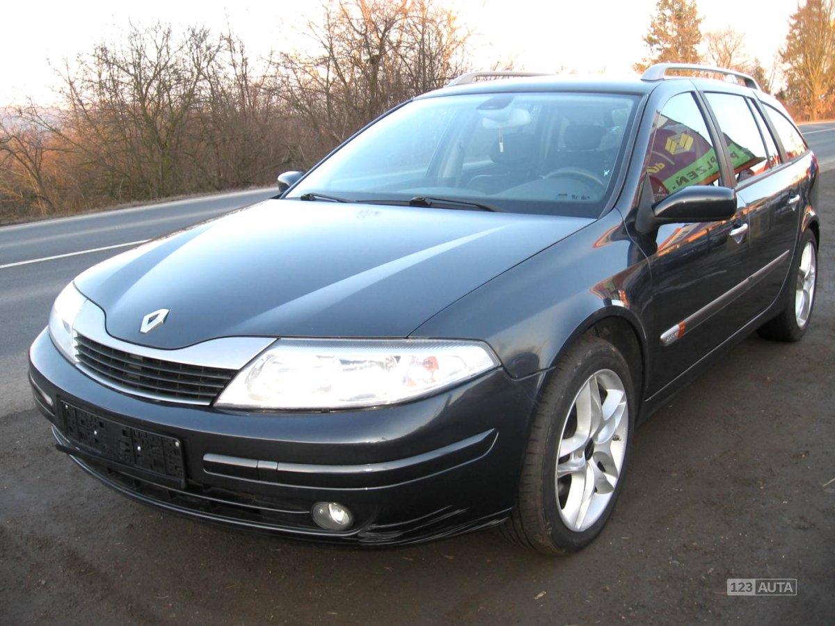 Renault Laguna, 2003 - celkový pohled