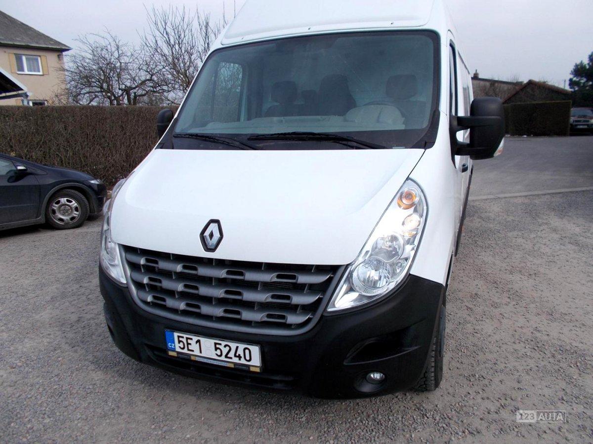 Renault Master, 2012 - celkový pohled