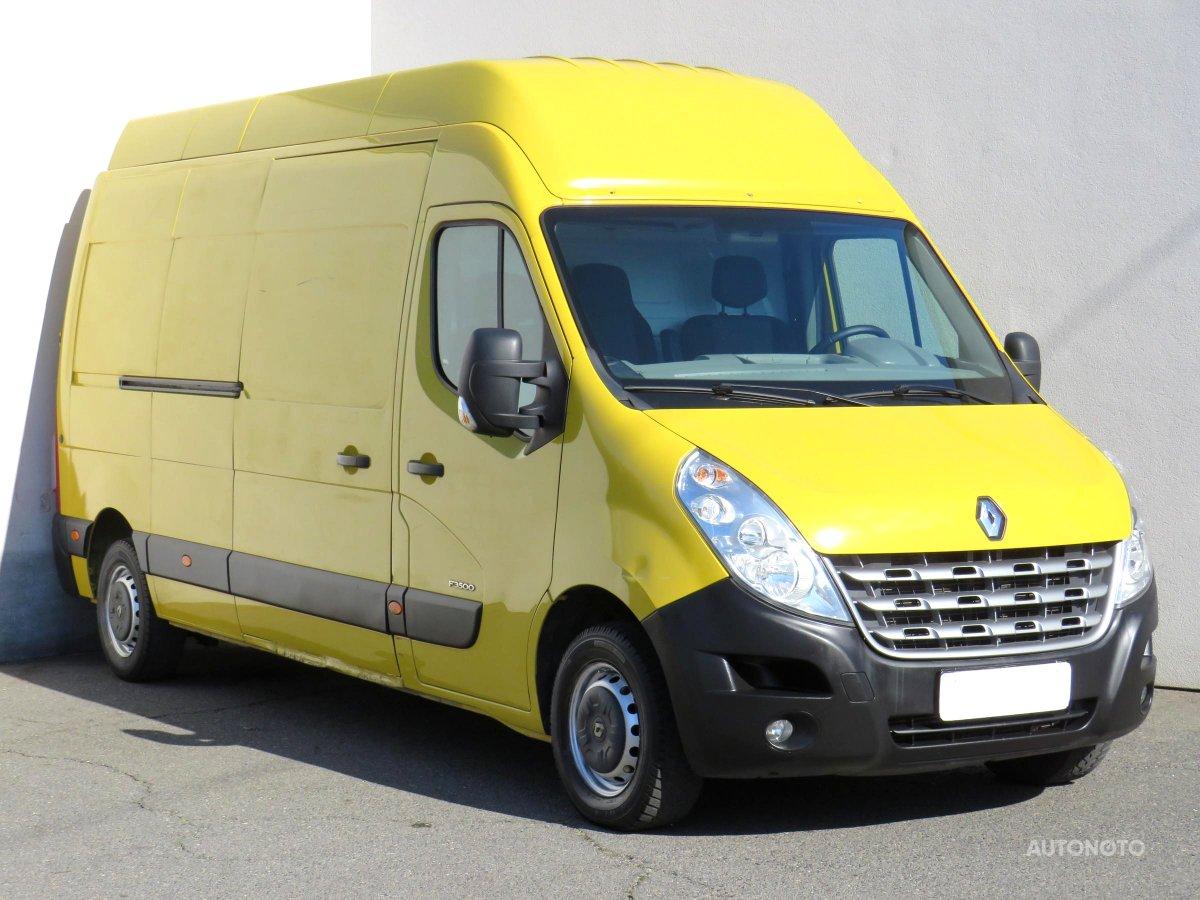Renault Master, 2011 - celkový pohled