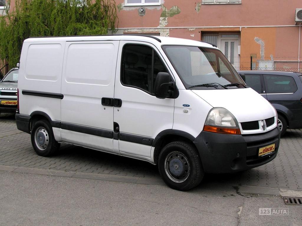 Renault Master, 2005 - celkový pohled