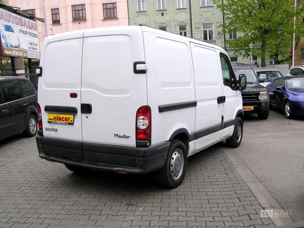 Renault Master, 2005 - pohled č. 5