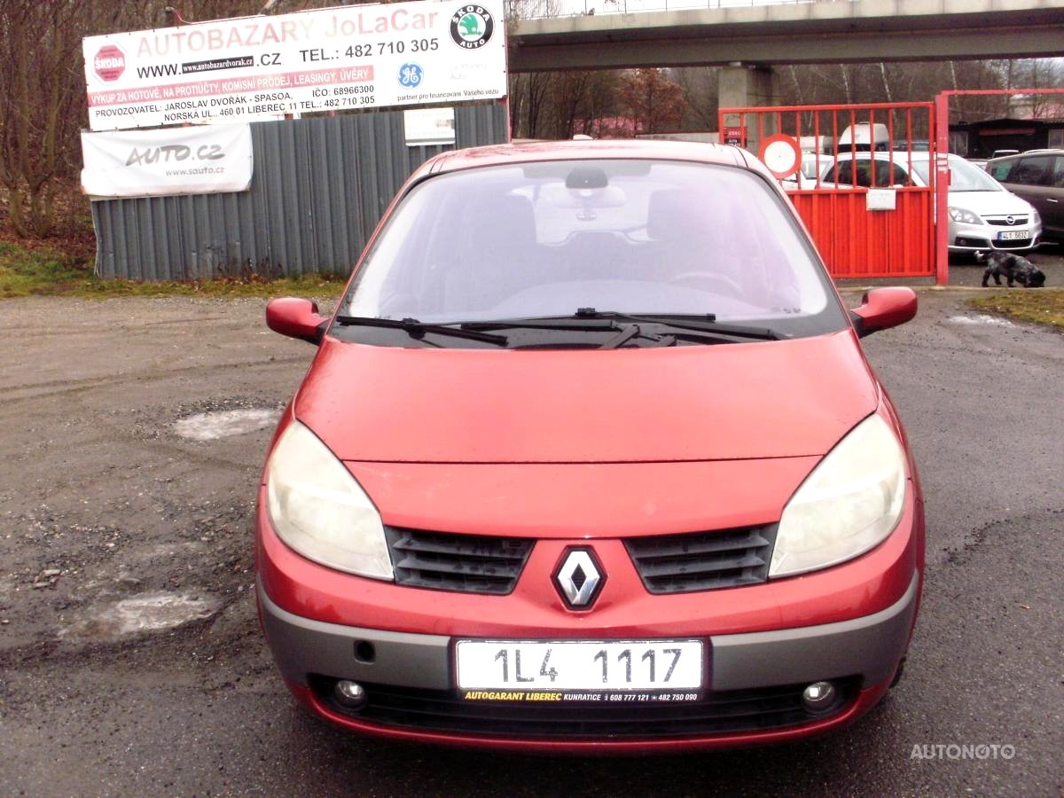 Renault Megane Scénic, 2003 - celkový pohled