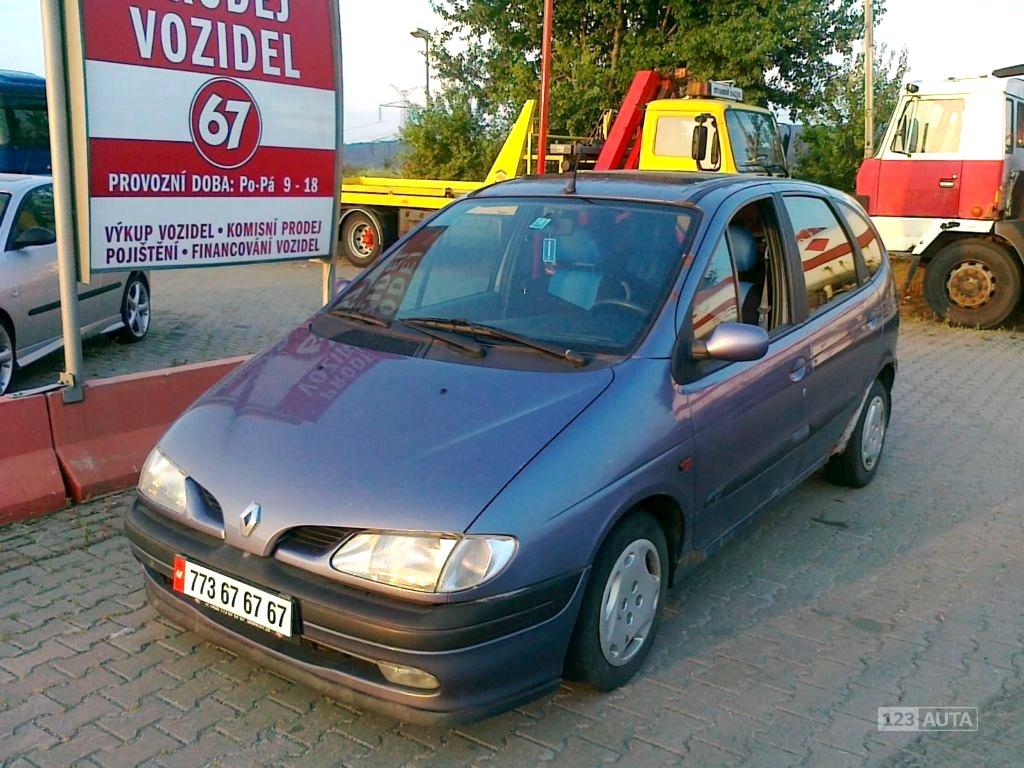 Renault Megane Scénic, 1997 - celkový pohled