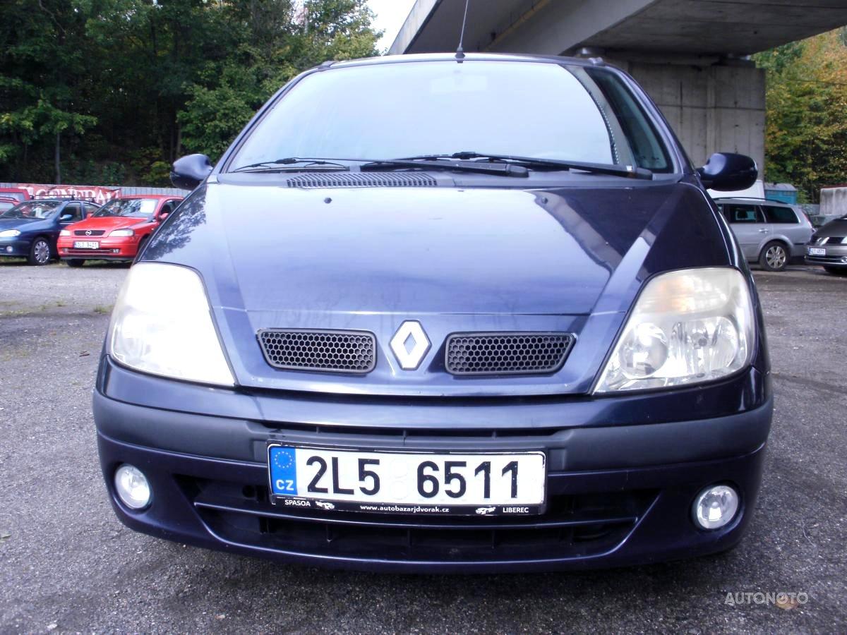 Renault Megane Scénic, 2000 - celkový pohled