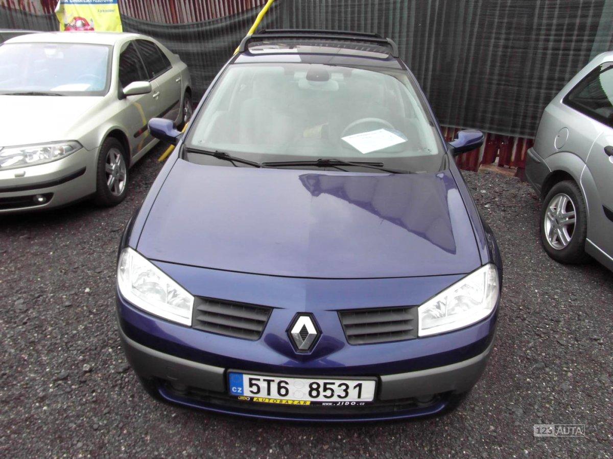 Renault Mégane, 2005 - celkový pohled