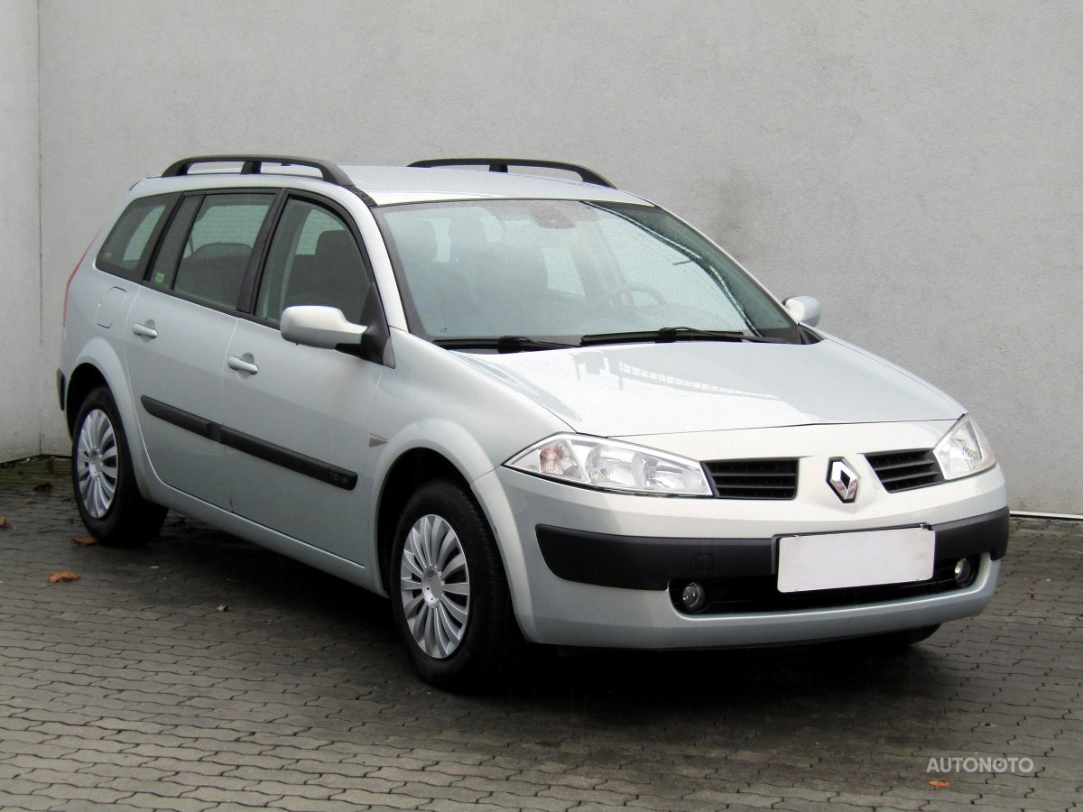 Renault Mégane, 2003 - celkový pohled