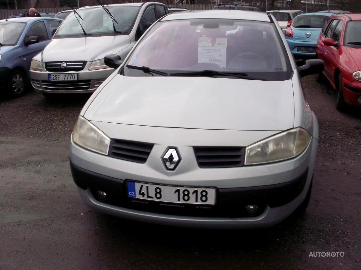 Renault Mégane, 2004 - celkový pohled