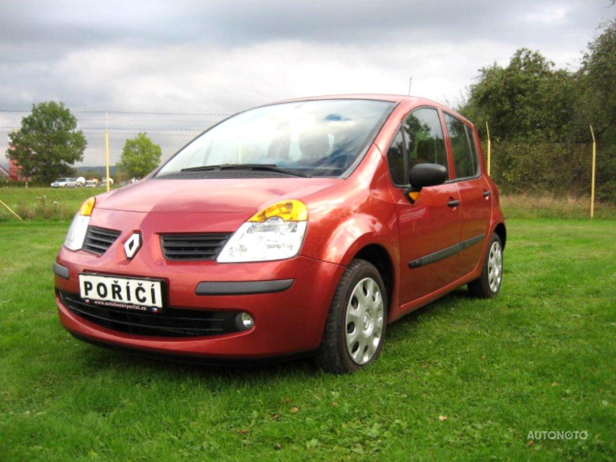 Renault Modus, 2004 - celkový pohled