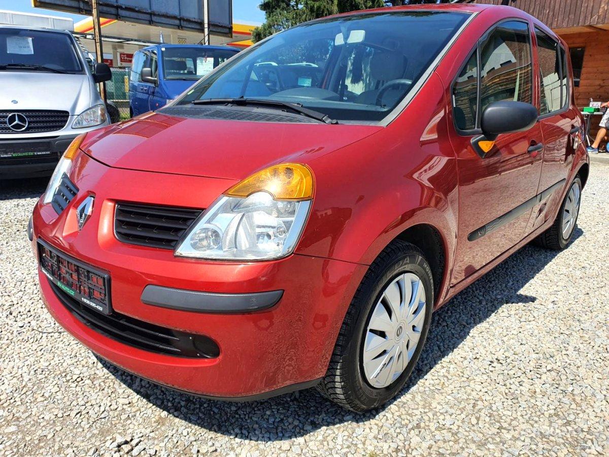 Renault Modus, 2006 - celkový pohled