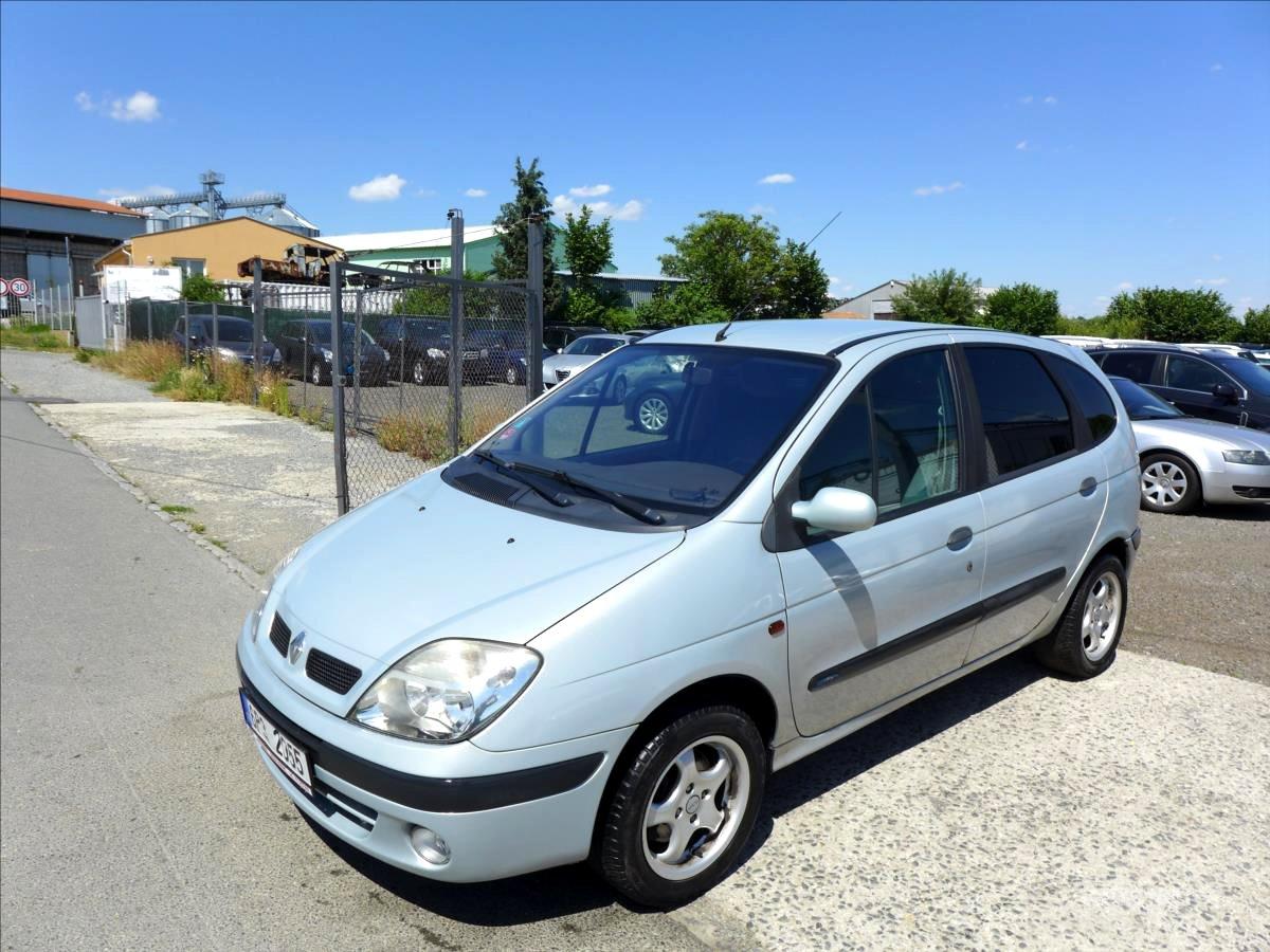 Renault Scénic, 2002 - celkový pohled